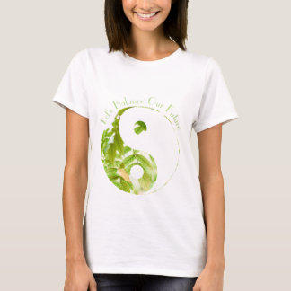 Yin Yang Earth - Let's Balance Our Future Tee