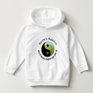 Yin Yang - Earth's Balance My Future Depends On It Hoodie