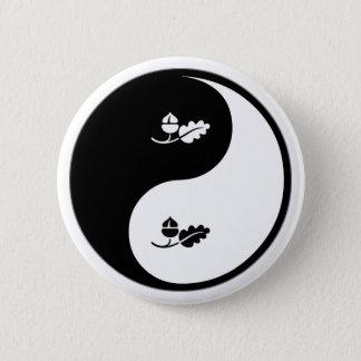 Yin Yang Ecology Pinback Button
