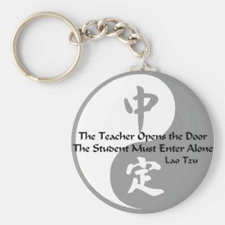 Yin Yang - el profesor Llavero Personalizado