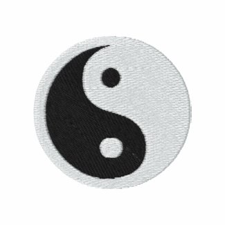 Yin Yang embroideredshirt