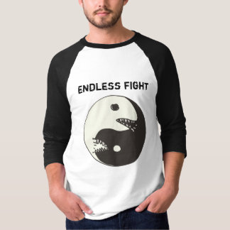yin yang endless fight T-Shirt