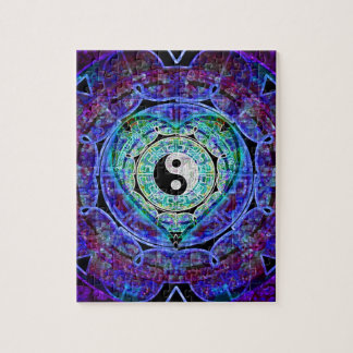 Yin Yang Energy Flow Jigsaw Puzzle