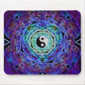 Yin Yang Energy Flow Mouse Pad (<em>$11.60</em>)
