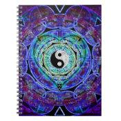 Yin Yang Energy Flow Spiral Notebook (<em>$13.70</em>)