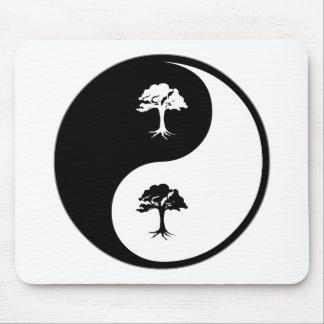 Yin Yang Environmental Science Mouse Pad