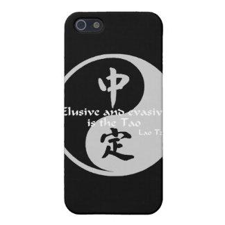 Yin Yang - evasivo y evasivo iPhone 5 Funda