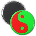 Yin-Yang extranjero Imanes Para Frigoríficos