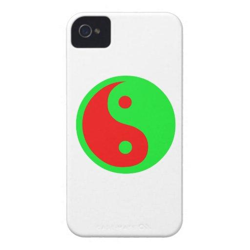 Yin-Yang extranjero iPhone 4 Case-Mate Carcasa