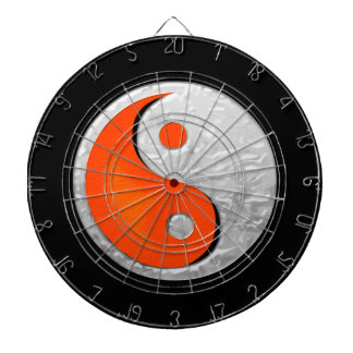 Yin Yang Fire and Ice Fantasy Dartboard
