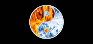 Yin Yang Fire And Ice Home Décor Furnishings Pet Supplies Zazzle