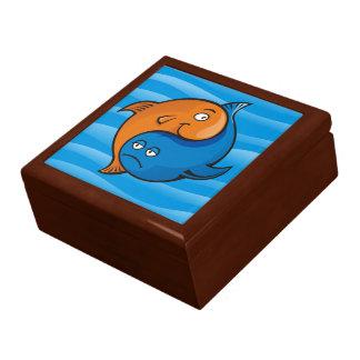 Yin Yang Fish Cartoon Gift Box