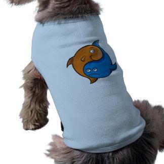 Yin Yang Fish Cartoon T-Shirt