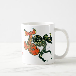 Yin Yang Fish Mug