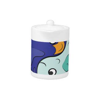 Yin Yang Fish Teapot