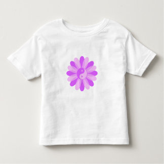 Yin Yang Floral Toddler T-shirt