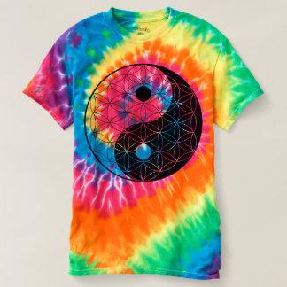 Yin Yang Flower of Life T-shirt