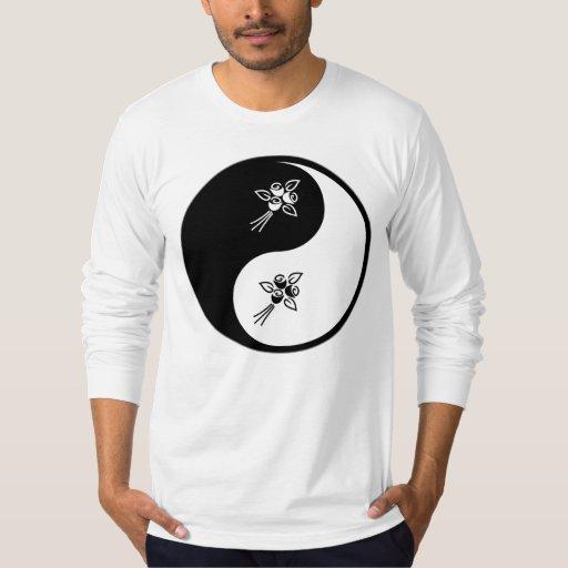 Yin Yang Flower Shirt