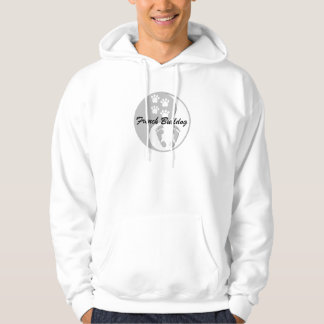 yin yang french bulldog hoodie