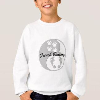 yin yang french bulldog sweatshirt