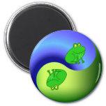 Yin Yang Frog Magnet