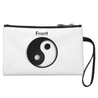 Yin Yang Front Back Clutch