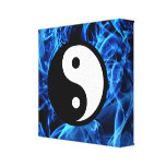 Yin Yang Gallery Wrapped Canvas