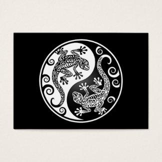 Yin Yang Geckos Business Card