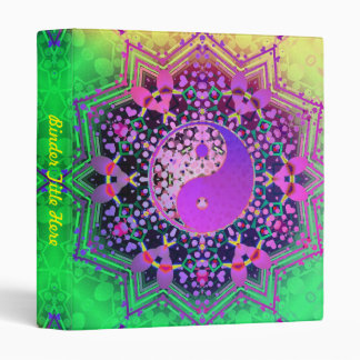 Yin Yang Geometry Avery Binder