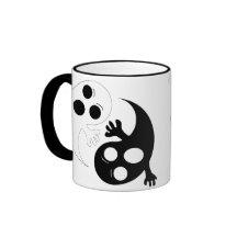 Yin Yang Ghosts Coffee Mug