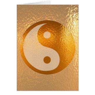 YIN YANG GOLD CARD