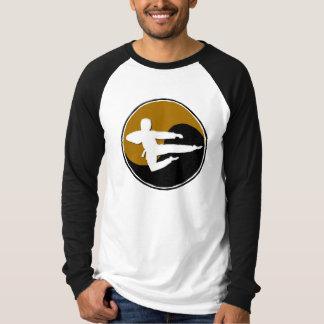 Yin Yang Gold Karate GUY 1 T-shirt