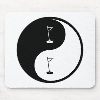 Yin Yang Golf Mouse Pad