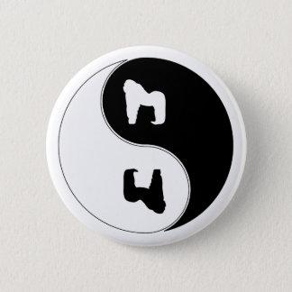 Yin Yang Gorilla Pinback Button