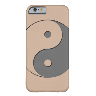 Yin Yang - grey 1 Barely There iPhone 6 Case
