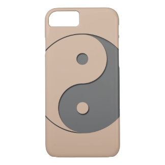 Yin Yang - grey 1 iPhone 7 Case