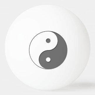Yin Yang - grey 1 Ping-Pong Ball