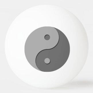 Yin Yang - grey 1 Ping Pong Ball