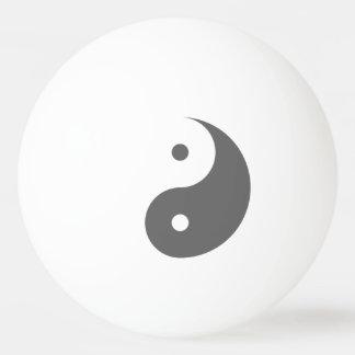 Yin Yang - grey 2 Ping Pong Ball