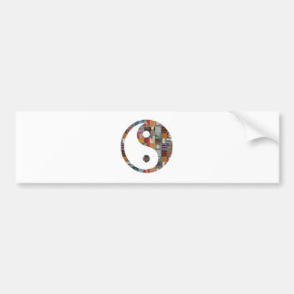 YIN YANG GROUP-Card Lowprice Collage ART NVN481 Bumper Sticker