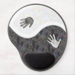 Yin Yang Hands Gel Mousepad+gift