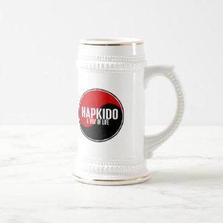 Yin Yang HAPKIDO 1 18 Oz Beer Stein