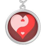 Yin Yang Heart Pendants