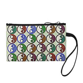 YIN YANG HEARTS Clutch/Accessory Bag