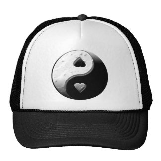 Yin Yang Hearts Trucker Hat