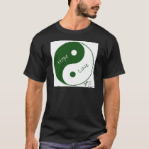 Yin Yang Hope Love Mental Health Awareness T-Shirt