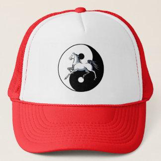 Yin Yang Horse Hat