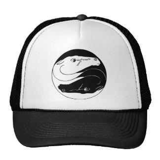 Yin Yang Horses Cap Trucker Hat