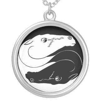 Yin Yang Horses Pendant