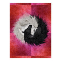 Yin Yang Horses Poster - completely customizable!